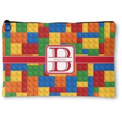 "Building Blocks Zipper Pouch - Small - 8.5""x6"" (Personalized)"