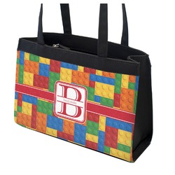 Building Blocks Zippered Everyday Tote (Personalized)