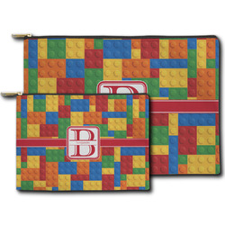 Building Blocks Zipper Pouch (Personalized)