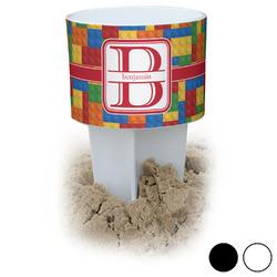 Building Blocks Beach Spiker Drink Holder (Personalized)