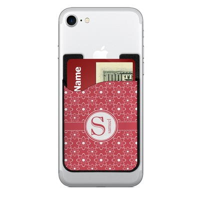 Atomic Orbit 2-in-1 Cell Phone Credit Card Holder & Screen Cleaner (Personalized)
