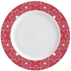 Atomic Orbit Ceramic Dinner Plates (Set of 4) (Personalized)