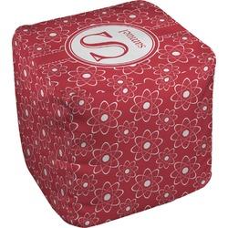 Atomic Orbit Cube Pouf Ottoman (Personalized)
