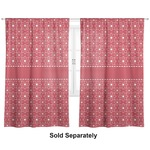 "Atomic Orbit Curtains - 20""x54"" Panels - Unlined (2 Panels Per Set) (Personalized)"