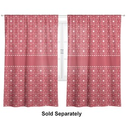 "Atomic Orbit Curtains - 20""x63"" Panels - Unlined (2 Panels Per Set) (Personalized)"
