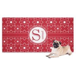 Atomic Orbit Dog Towel (Personalized)