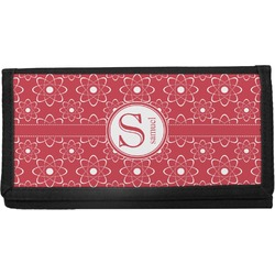 Atomic Orbit Canvas Checkbook Cover (Personalized)