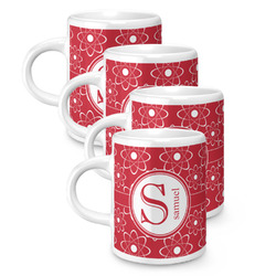 Atomic Orbit Espresso Mugs - Set of 4 (Personalized)