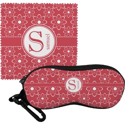 Atomic Orbit Eyeglass Case & Cloth (Personalized)