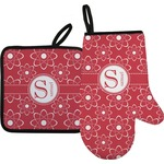 Atomic Orbit Oven Mitt & Pot Holder (Personalized)