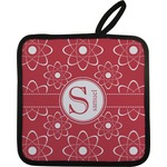 Atomic Orbit Pot Holder w/ Name and Initial