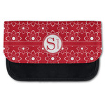 Atomic Orbit Canvas Pencil Case w/ Name and Initial