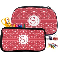 Atomic Orbit Pencil / School Supplies Bag (Personalized)
