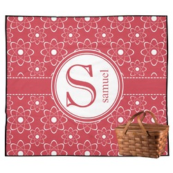 Atomic Orbit Outdoor Picnic Blanket (Personalized)