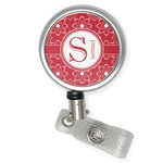 Atomic Orbit Retractable Badge Reel (Personalized)