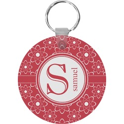 Atomic Orbit Round Keychain (Personalized)