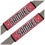 Atomic Orbit Seat Belt Covers (Set of 2) (Personalized)