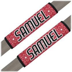 Atomic Orbit Seat Belt Covers (Set of 2) (Personalized)