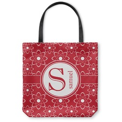 Atomic Orbit Canvas Tote Bag (Personalized)