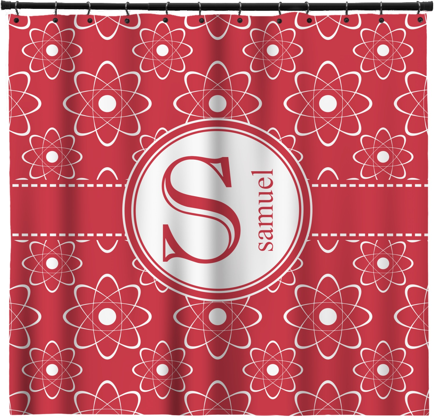 Atomic Orbit Shower Curtain 69 X70 Personalized Youcustomizeit