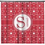 Atomic Orbit Shower Curtain (Personalized)