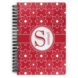 Atomic Orbit Spiral Bound Notebook (Personalized)