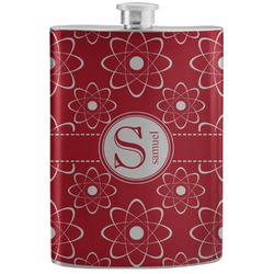 Atomic Orbit Stainless Steel Flask (Personalized)