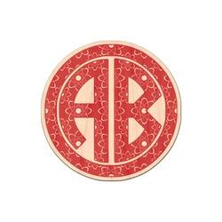 Atomic Orbit Genuine Maple or Cherry Wood Sticker (Personalized)