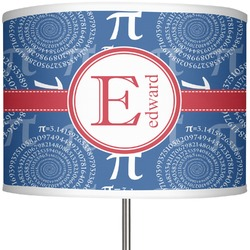 """PI 13"""" Drum Lamp Shade Polyester (Personalized)"""