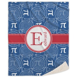 PI Sherpa Throw Blanket (Personalized)