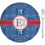 "PI Glass Appetizer / Dessert Plates 8"" - Single or Set (Personalized)"