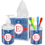 PI Acrylic Bathroom Accessories Set w/ Name and Initial