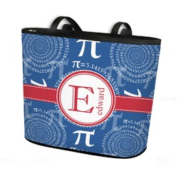 PI Bucket Tote w/ Genuine Leather Trim (Personalized)