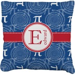 PI Faux-Linen Throw Pillow (Personalized)