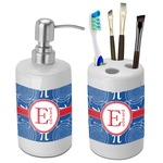 PI Bathroom Accessories Set (Ceramic) (Personalized)