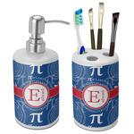PI Ceramic Bathroom Accessories Set (Personalized)