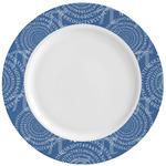 PI Ceramic Dinner Plates (Set of 4) (Personalized)