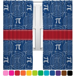 PI Curtains (2 Panels Per Set) (Personalized)