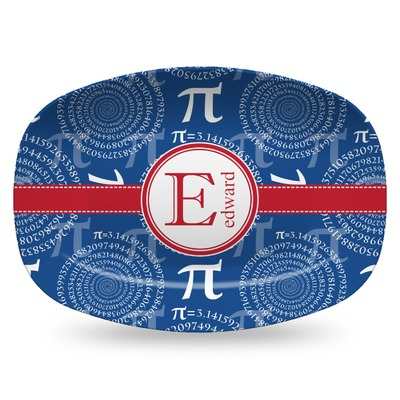 PI Plastic Platter - Microwave & Oven Safe Composite Polymer (Personalized)