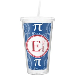 PI Double Wall Tumbler with Straw (Personalized)