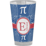 PI Drinking / Pint Glass (Personalized)