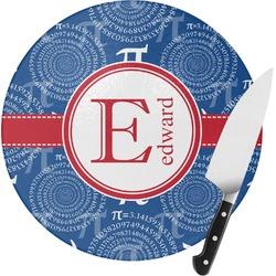 PI Round Glass Cutting Board (Personalized)