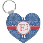 PI Heart Keychain (Personalized)
