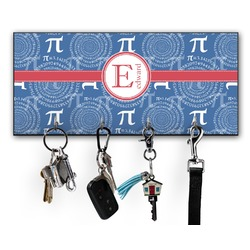 PI Key Hanger w/ 4 Hooks w/ Name and Initial