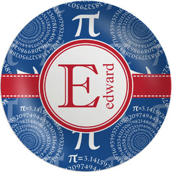 "PI Melamine Plate - 8"" (Personalized)"