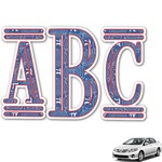 PI Monogram Car Decal (Personalized)