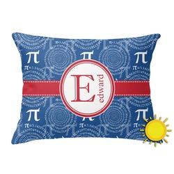 PI Outdoor Throw Pillow (Rectangular) (Personalized)