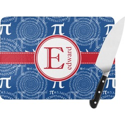 PI Rectangular Glass Cutting Board (Personalized)