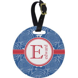 PI Round Luggage Tag (Personalized)