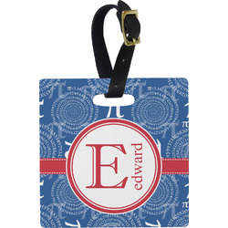 PI Square Luggage Tag (Personalized)